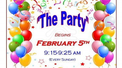 Children's Ministry - The Party