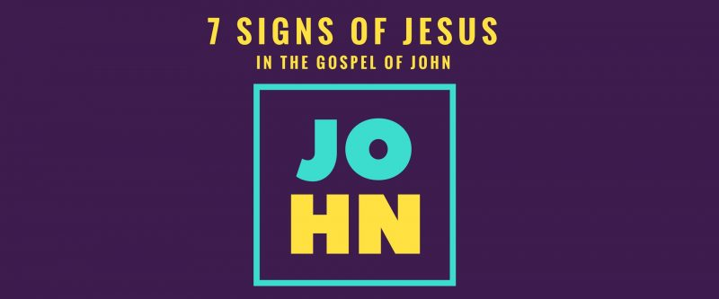 7 Signs in John